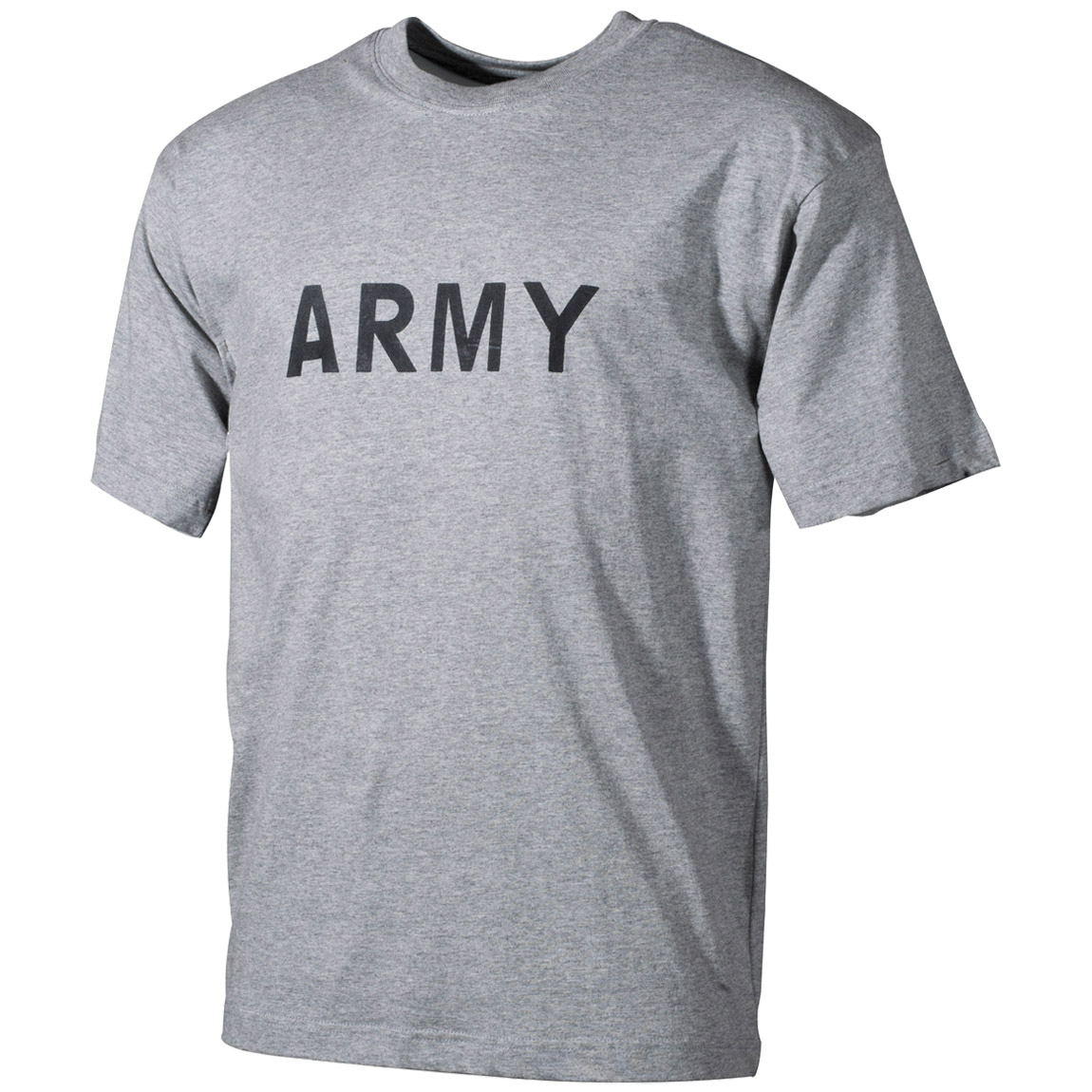 MFH T-shirt Grey with Army Print | T-shirts & Vests | Military 1st