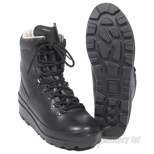 GERMAN ARMY MOUNTAIN COMBAT BOOTS BW MILITARY POLICE CADET BREATHABLE WATERPROOF