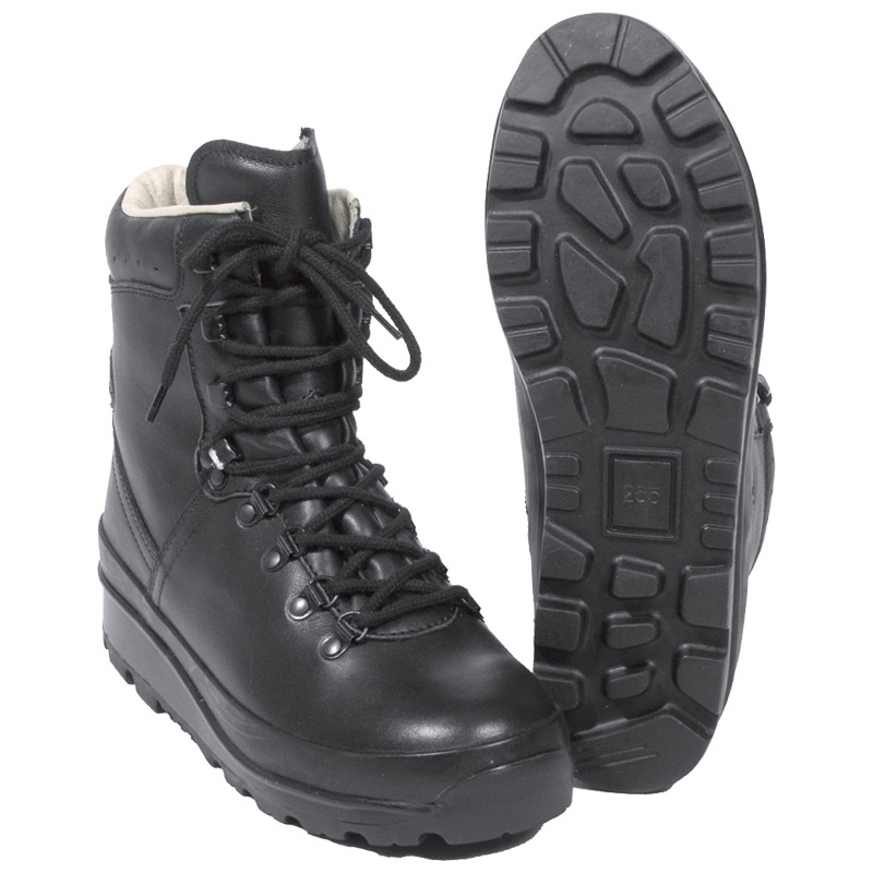 German Army Mountain Combat Boots BW Military Police Cadet ...