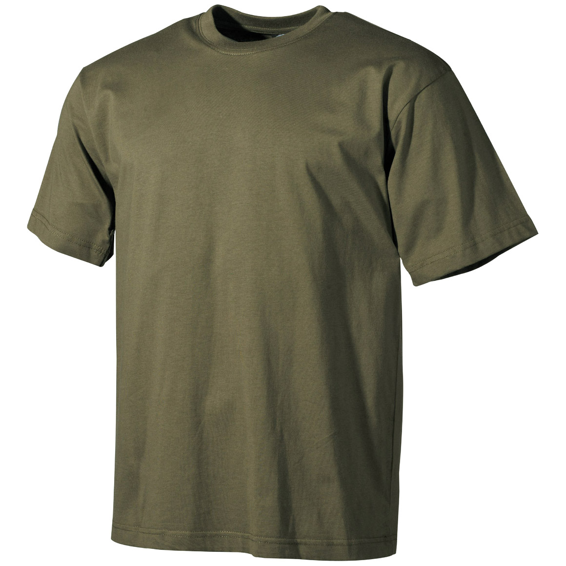 Army cadet tee mens green combat t shirt military cotton for Green mens t shirt