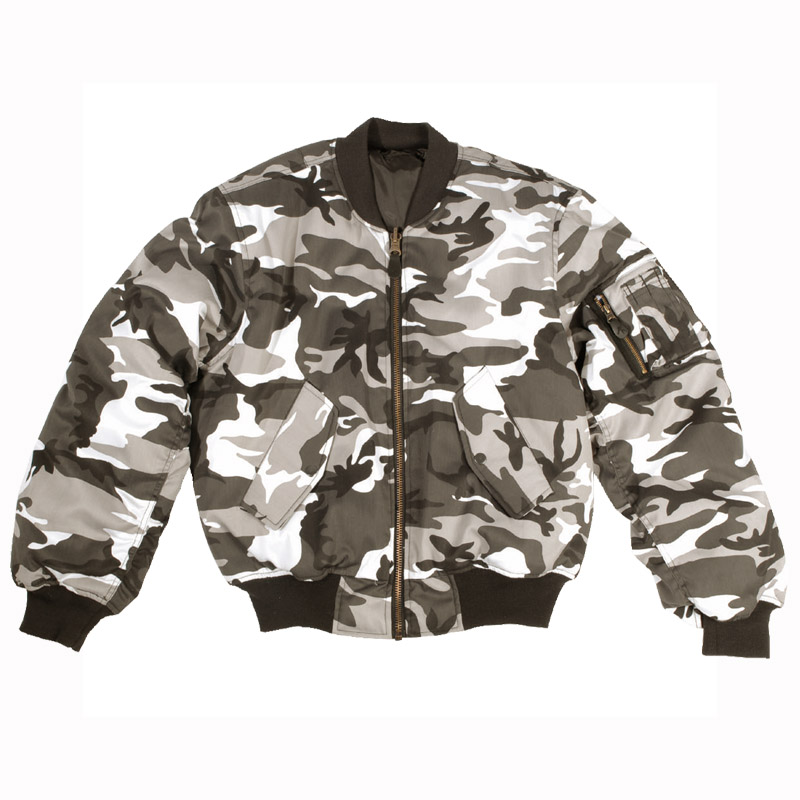 Mil-Tec MA-1 Flight Jacket Urban | Flight | Military 1st