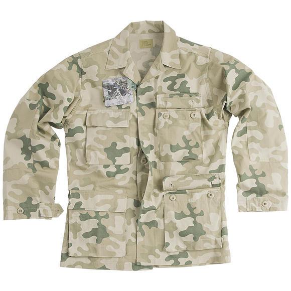 Helikon Genuine BDU Shirt Cotton Ripstop Polish Desert