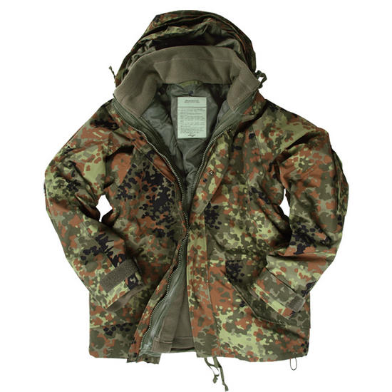 Mil-Tec ECWCS Jacket with Fleece Flecktarn Preview