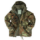Mil-Tec ECWCS Jacket with Fleece Flecktarn Thumbnail 1