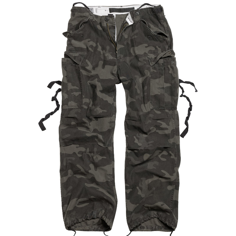 VINTAGE FATIGUES COMBAT WORK TROUSERS SURPLUS PANTS ARMY ...