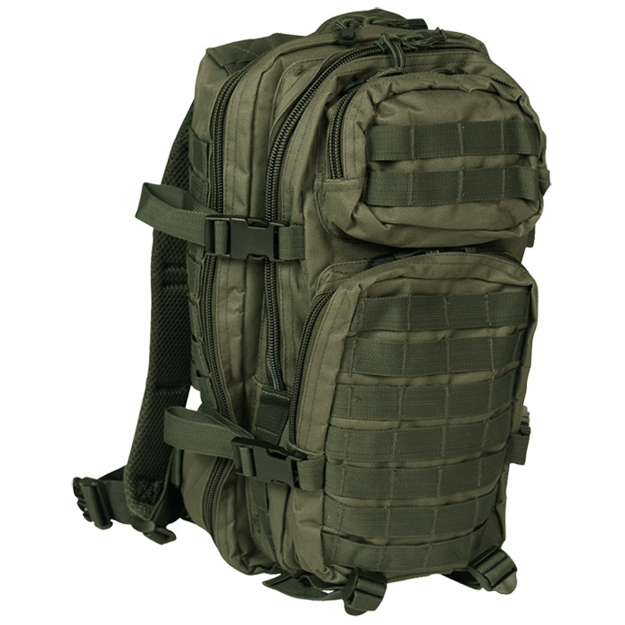 Patrol Assault Pack Tactical Rucksack MOLLE System Backpack Hiking ...