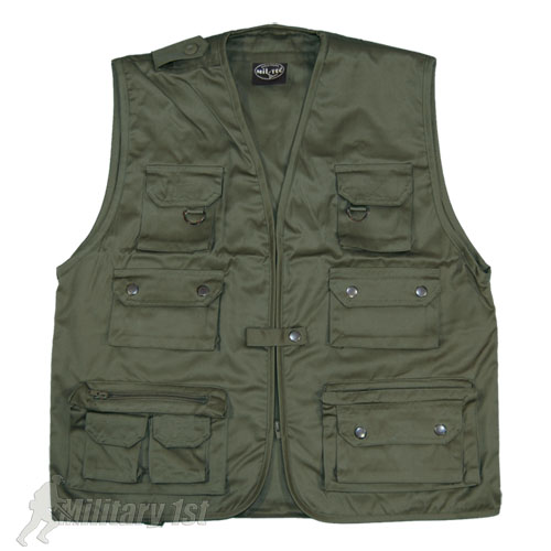 fishing vest multi pocket mens waistcoat olive s 4xl ebay