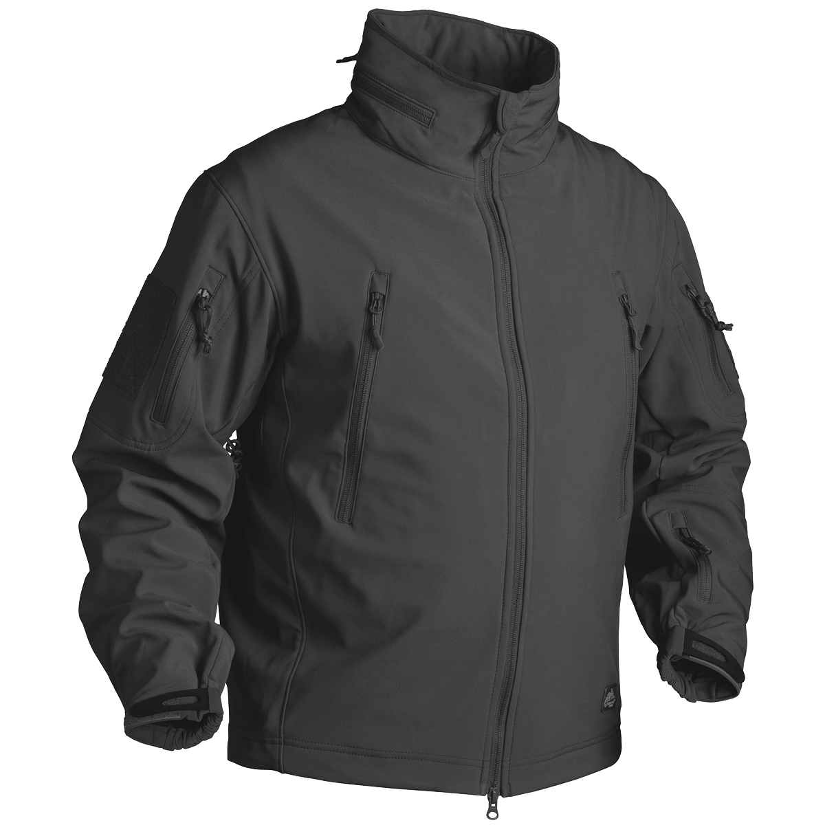 helikon gunfighter soft shell jacket black soft shell. Black Bedroom Furniture Sets. Home Design Ideas