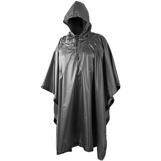 Helikon Waterproof Poncho Ripstop Black Preview