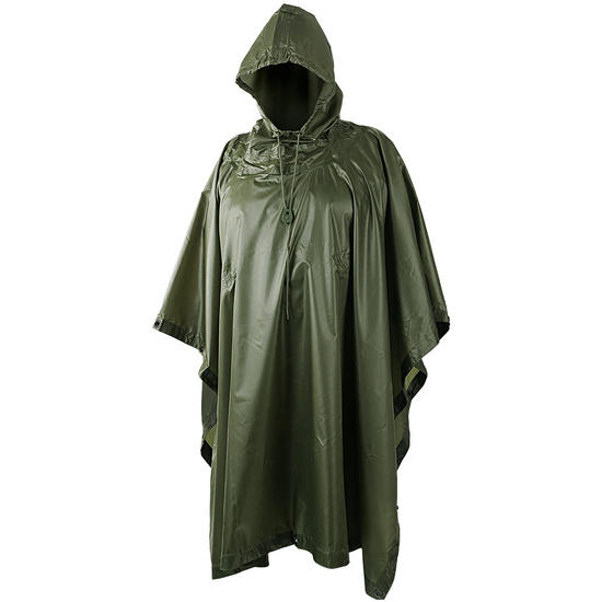 Helikon Waterproof Poncho Ripstop Olive Preview