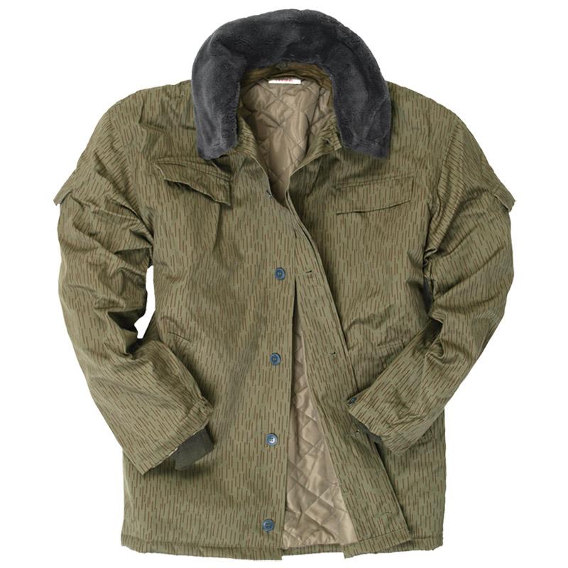 Nva Ddr Winter Jacket Mens Parka Classic Military Coat   Collar ...