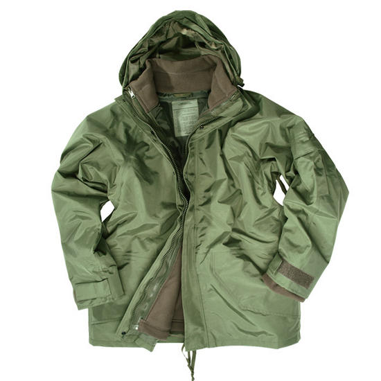 Mil-Tec ECWCS Jacket with Fleece Olive Preview