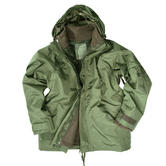 Mil-Tec ECWCS Jacket with Fleece Olive Thumbnail 1