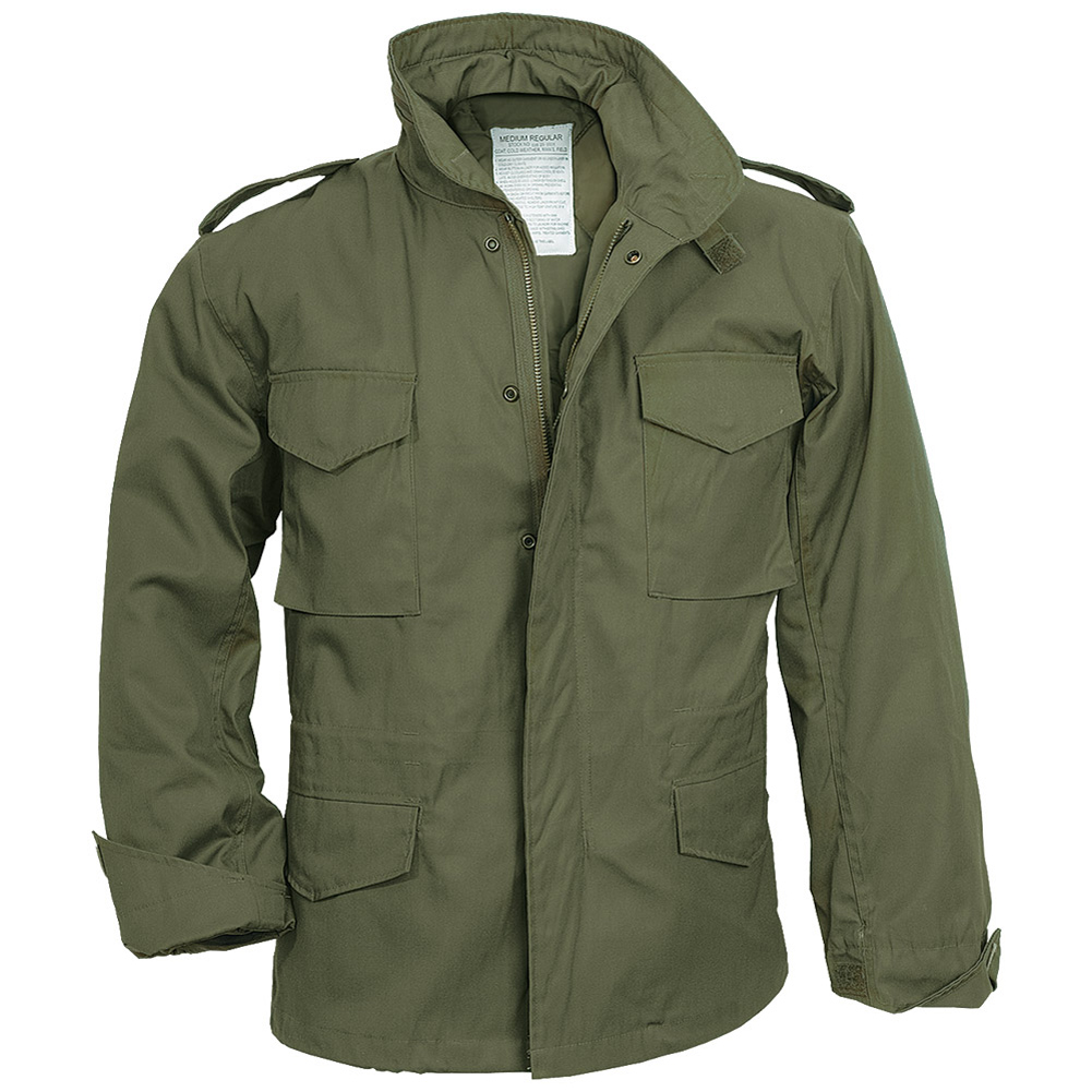 M65-FIELD-JACKET-MILITARY-COAT-ARMY-MENS-COMBAT-PARKA-LINER-SURPLUS-OLIVE-OD