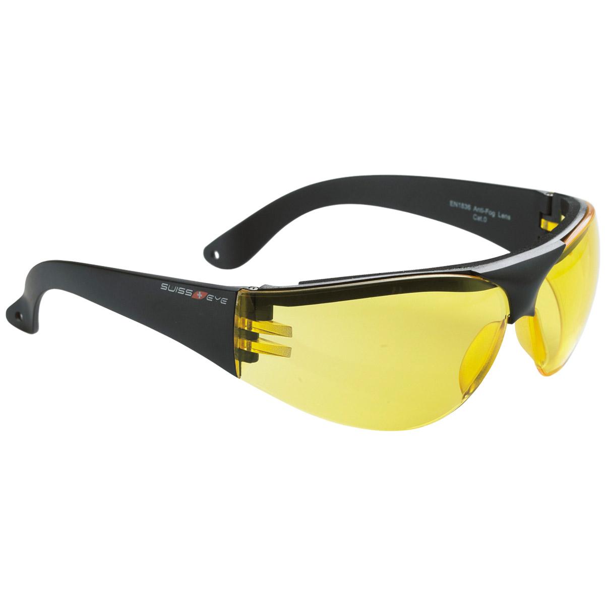Swiss Eye Outbreak Protector Glasses Black Frame Yellow ...
