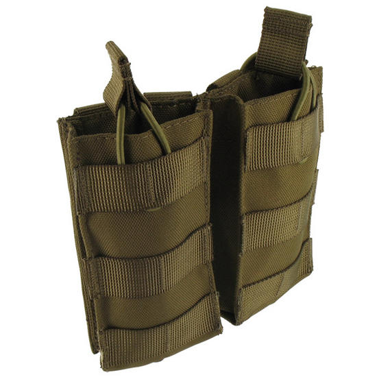 Pro-Force Double M4/M16 Magazine Pouch MOLLE Coyote