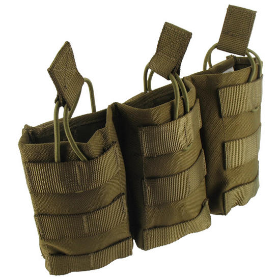 Pro-Force Triple M4/M16 Magazine Pouch MOLLE Coyote