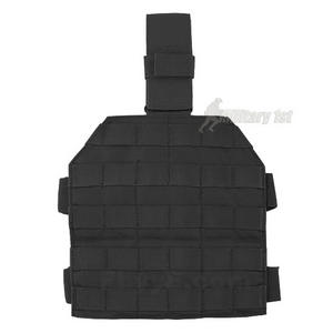 Flyye MOLLE Style Leg Panel Black