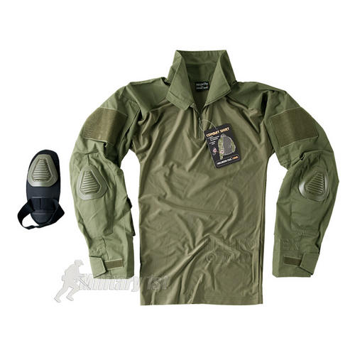 Helikon Combat Shirt with Elbow Pads Olive Preview