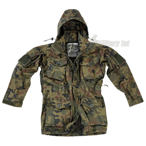 Helikon Field Parka Soldier 2008 Polish Woodland
