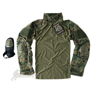 Helikon Combat Shirt with Elbow Pads USMC Digital Woodland