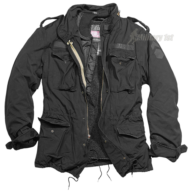 Surplus M65 Regiment Jacket Black Preview