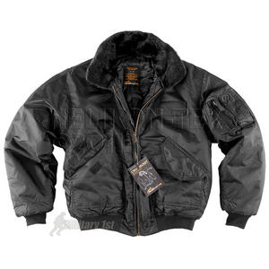 Helikon CWU Jacket with Fur Collar Black