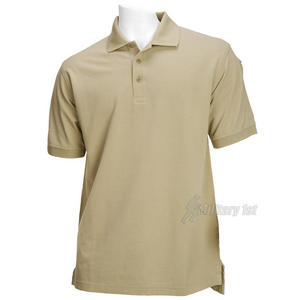 5.11 Professional Polo Short Sleeve Silver Tan