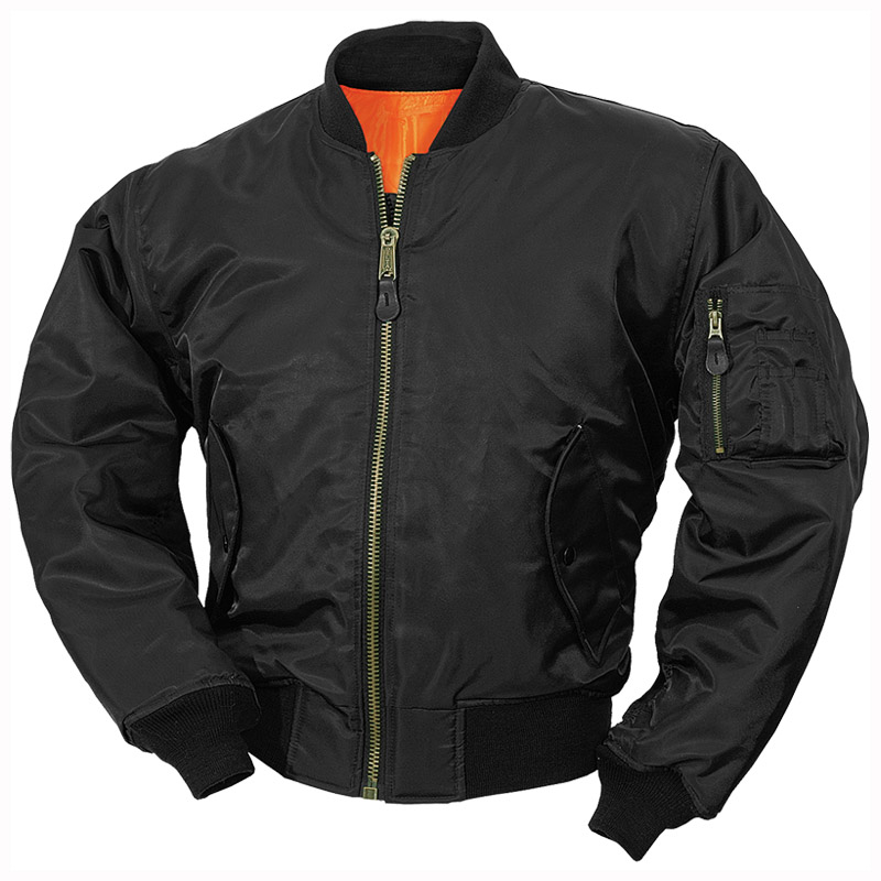 Surplus MA-1 Flight Jacket Black | Flight | Military 1st