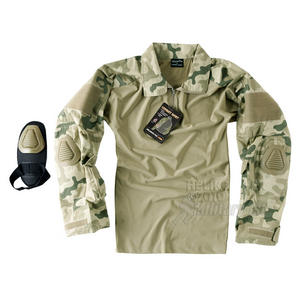 Helikon Combat Shirt with Elbow Pads USMC Polish Desert