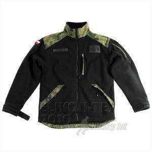Helikon Infantry Fleece Black/Polish Woodland
