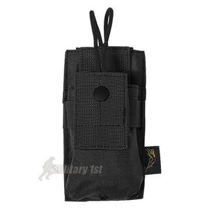 Flyye Short Radio Pouch MOLLE Black