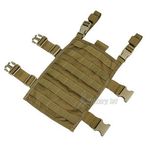 Flyye Right-Angle Leg Panel MOLLE Coyote Brown