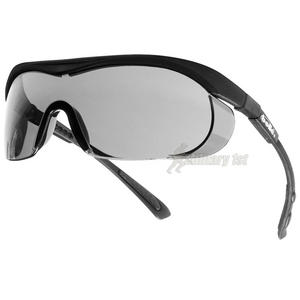 Bolle Targa III Glasses Smoke Black Frame
