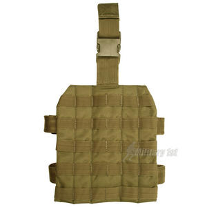 Mil-Tec Leg Panel MOLLE Coyote