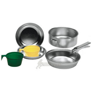 Mil-Tec Aluminium Cook Set for 2 People