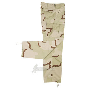 MFH BDU Combat Trousers Ripstop 3-Colour Desert