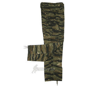 MFH BDU Combat Trousers Ripstop Tiger Stripe