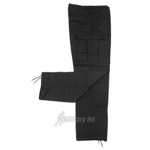 MFH BDU Combat Trousers Ripstop Black