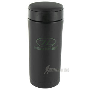 Highlander Sealed Thermal Mug Black