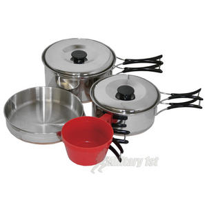 Highlander Camp 2 Copper Bottomed Cookset
