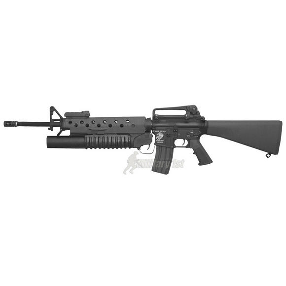 G&amp;P M16A3 with M203 (Marine Metal Body)