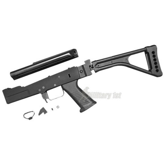 G&P AK Metal Body Set (FM Style, Folding Stock) Black