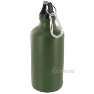 Highlander Alu-Lite Bottle 500ml Olive Green