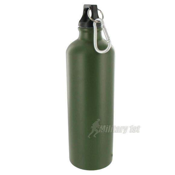 Highlander Alu-Lite Bottle 750ml Olive Green