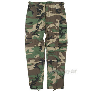 Zip-Off Combat Trousers Woodland