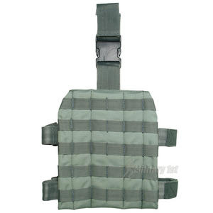 Mil-Tec Leg Panel MOLLE Foliage