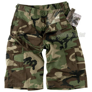 Helikon Genuine BDU Shorts Cotton Ripstop Woodland