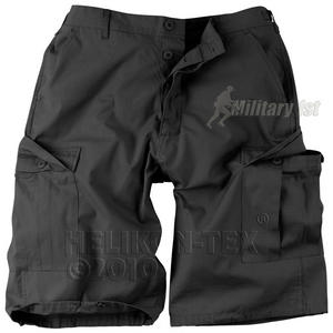 Helikon Genuine BDU Shorts Polycotton Ripstop Black