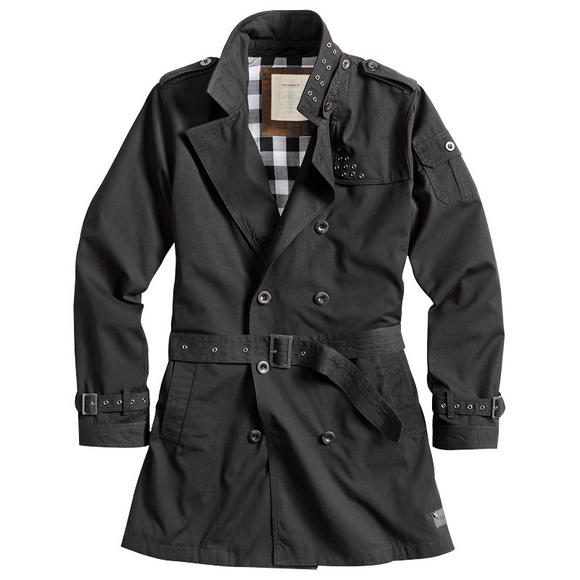 Surplus Trenchcoat Black